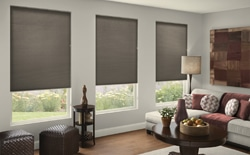Lining room with blackout Cellular shades