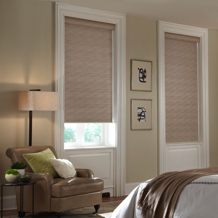 blackout cellular shades in bedroom
